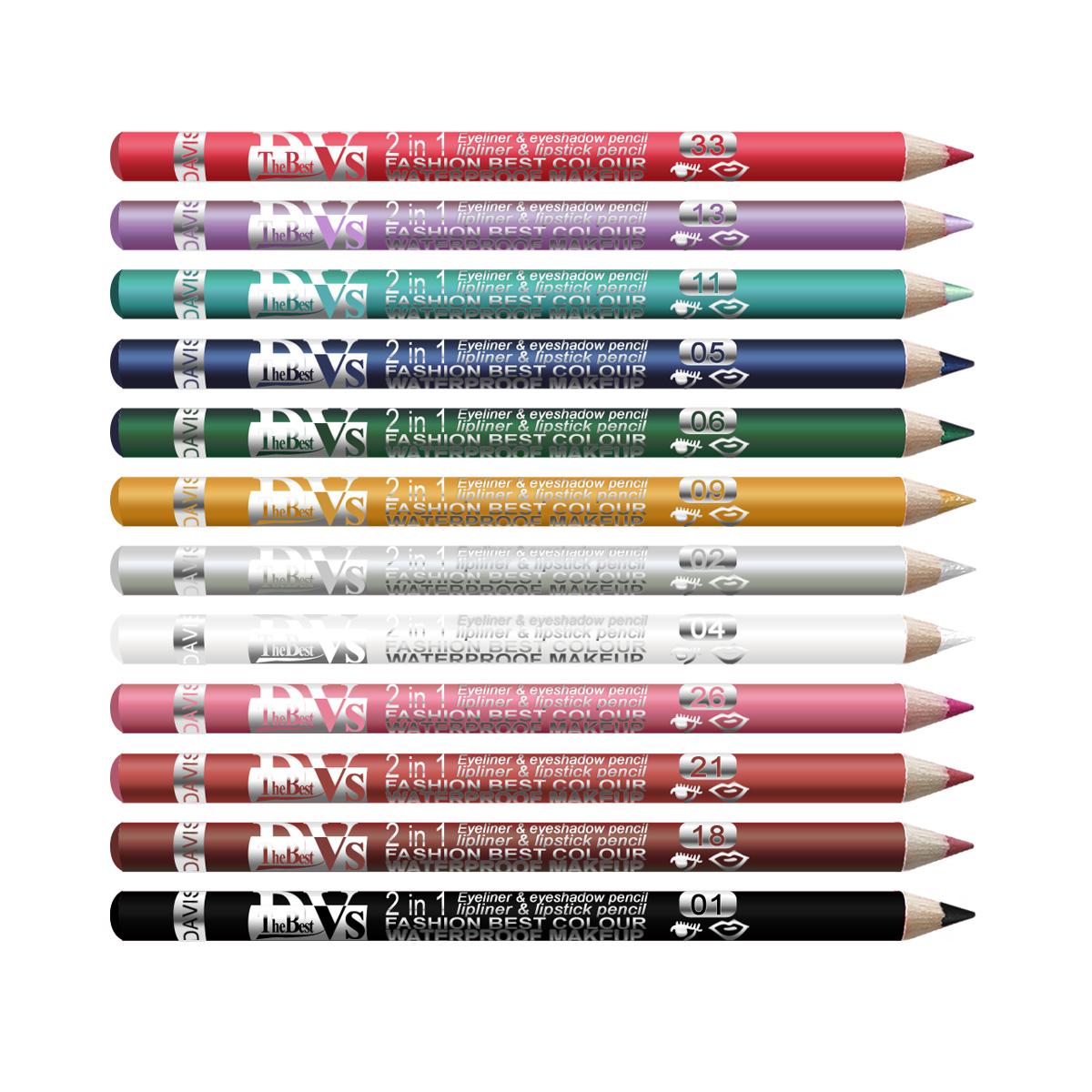 12 matita per occhi eyeliner 12 colori diversi penna impermeabile ebay - Occhi colori diversi ...